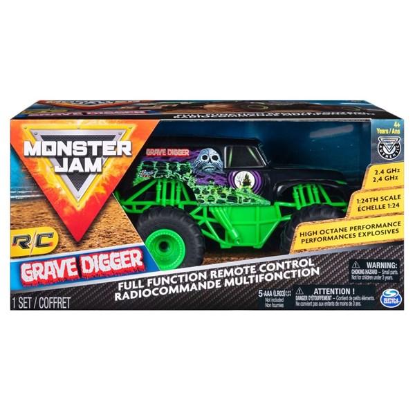 Camioneta A Escala Monster Jam Grave Digger