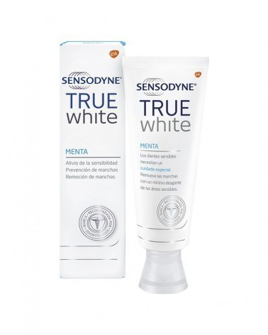 Sensodyne True White Pasta Dental Para Dientes Sensibles 100g