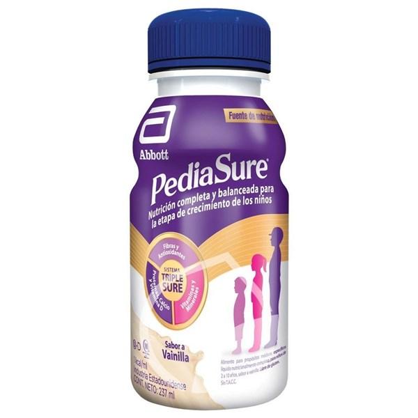 PEDIASURE PLUS Suplemento nutricional VAINILLA x 237 ml