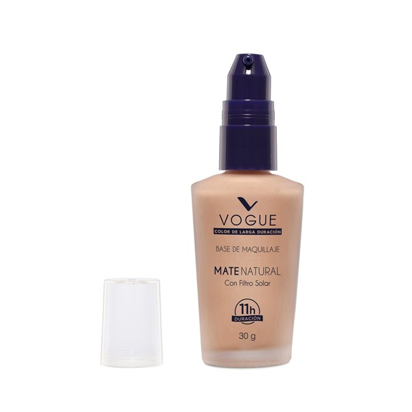 Base De Maquillaje Vogue Mate Natural Canela alt