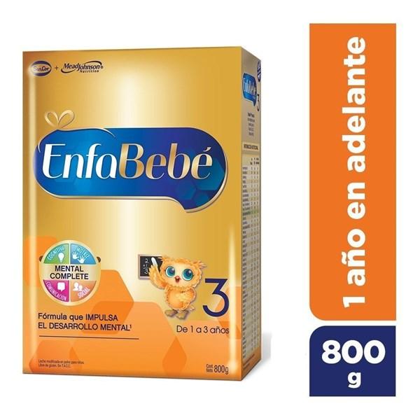 Leche Enfabebe 3, 800 gr