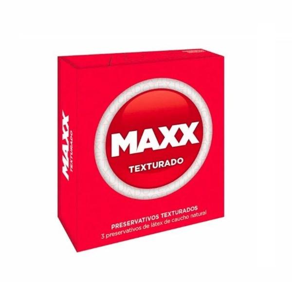 Preservativos Maxx Texturado X3