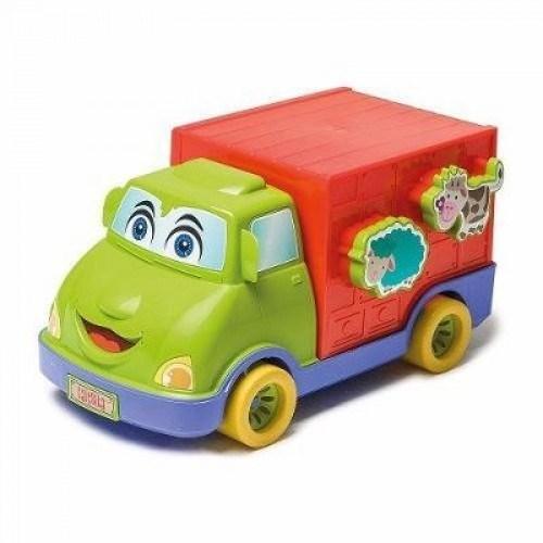 Camión De Encastre Granja Animada alt