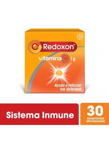 Multivitaminico Redoxon Efervescente 1 Gramo Comprimidos X 30 Sabor Naranja