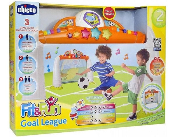 Arco de Fútbol Chicco Fit & Fun Goal League  alt