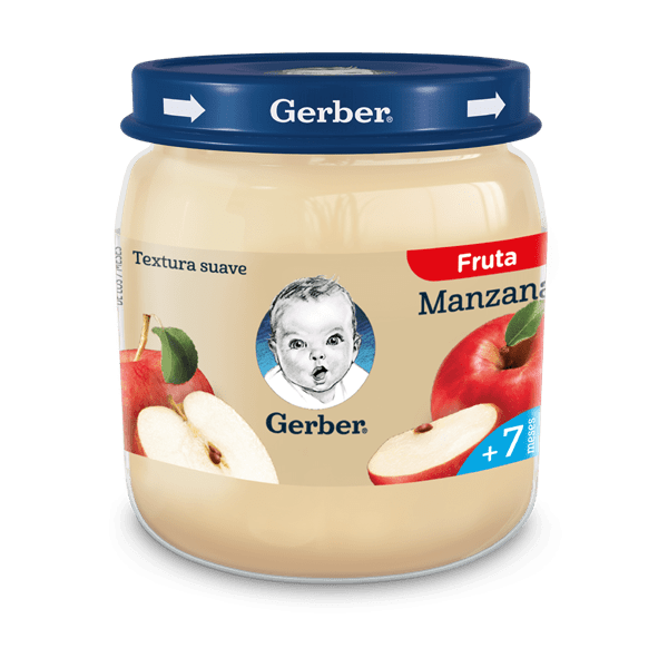 Papilla Para Bebés Gerber Manzana x 113 gr  #1