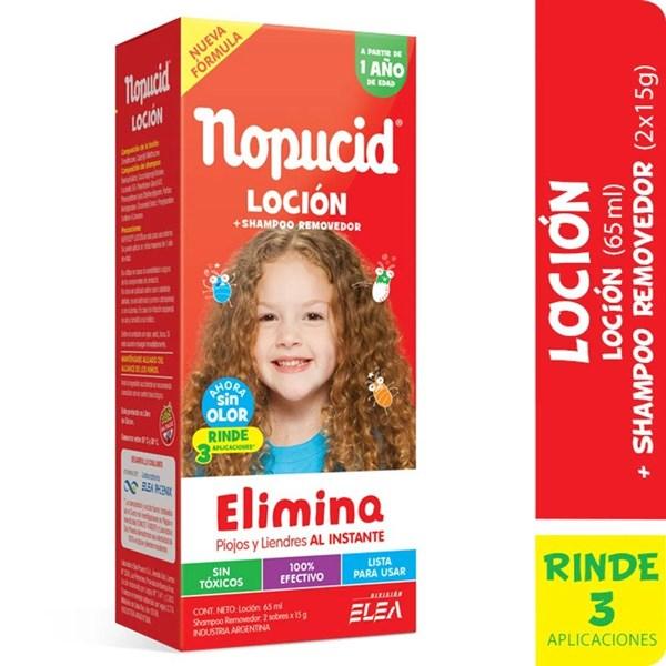 Nopucid Pediculicida x 65 ml Loción