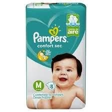 Pampers Confort Sec Regular M x8