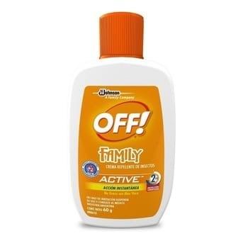 Off Family Active Crema x 60 gr 50% en la 2da unidad