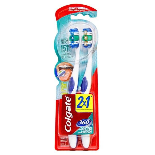 Colgate Cepillo Limpieza Profunda 360º Suave 620