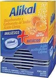 Alikal Bicarbonato Y Carbonato De Sodio Ácido Cítrico Sabor Naranja x30 Sobres