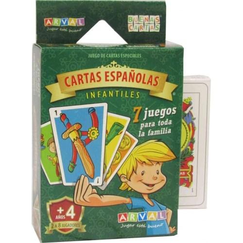 JUG CARTAS ESPAÑOLAS INFANTILES 1008 alt