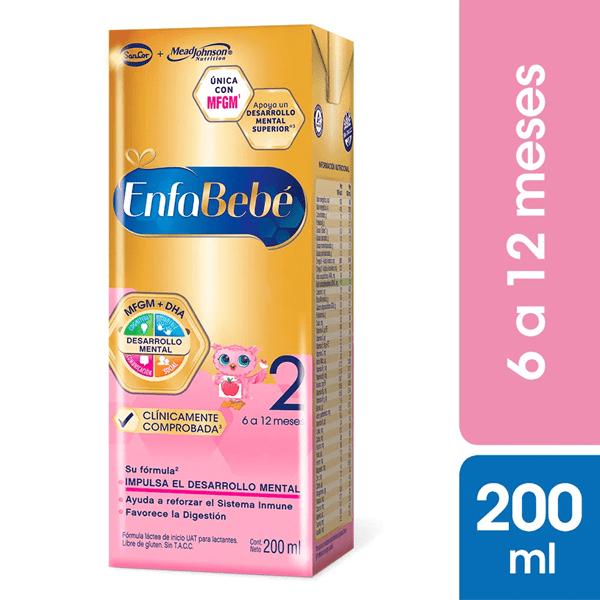 Leche Enfabebe 2, 200 ml
