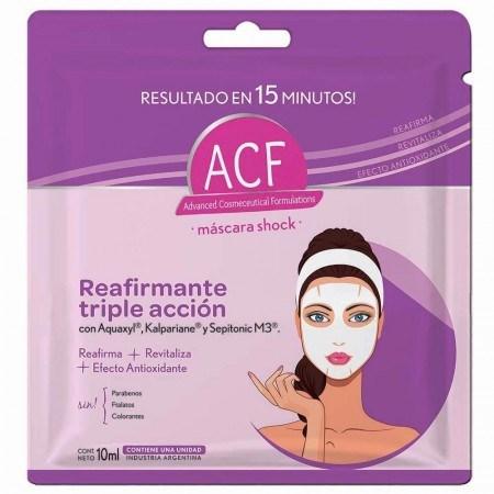 Acf Mascara Facial Shock Reafirmante 10 Ml #1