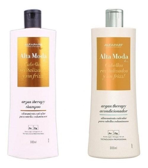 Kit Alta Moda Argan Therapy Shampoo + Acondicionador x 300 ml alt