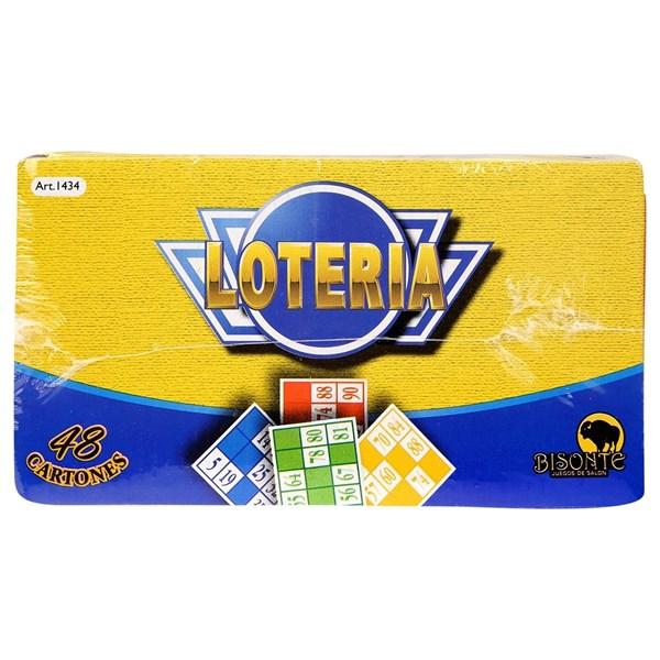 Juego De Lotería 48 Cartones
