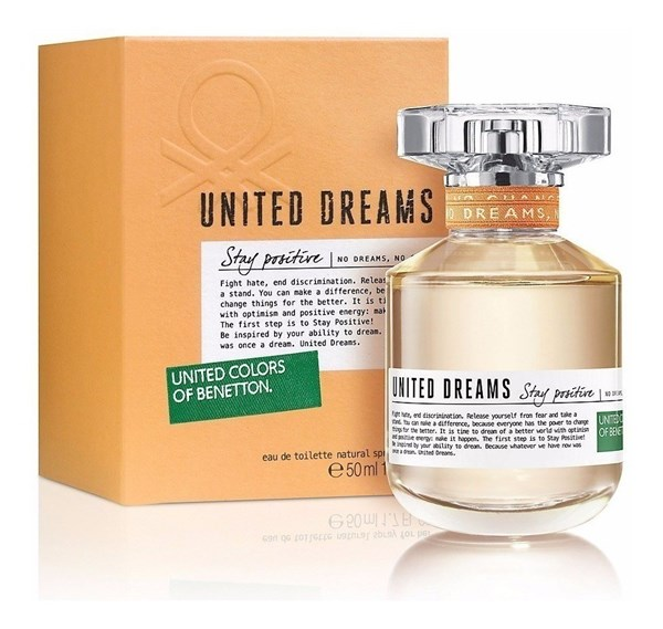 Perfume Benetton United Dreams Stay Positive EDT 50ml