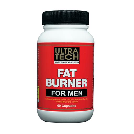 Fat Burner For Men 60 Capsulas Ultra Tech #1
