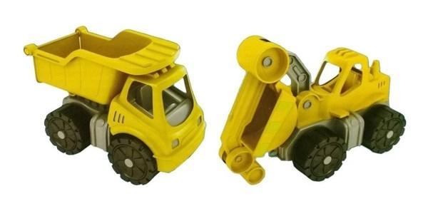 Camión Frontal Y Retroexcavadora Mini Juguete Duravit  alt