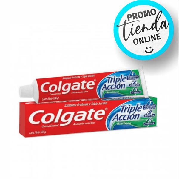 Colgate Crema Dental Triple Acción Menta Original x180g