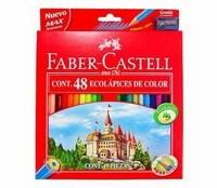 Lápices de Color Faber Castell x 48 unidades + Sacapuntas