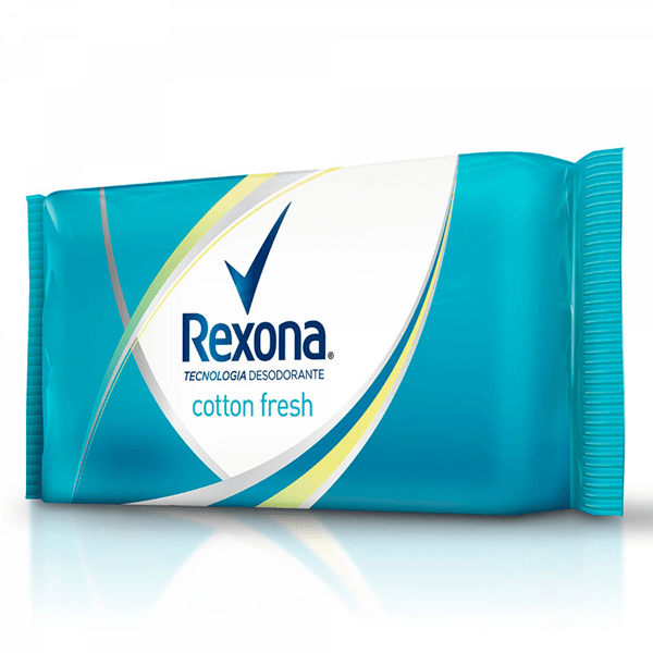 Rexona Jabón en Barra Cotton Fresh 3x125g