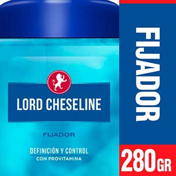Gel Para Cabello Lord Cheseline Clasico Pote X 280 Gr