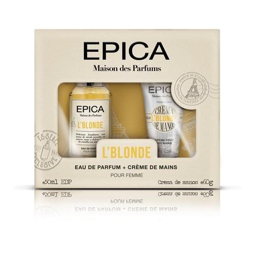 Perfume Epica Maison Des Parfums Cofre L'Blonde