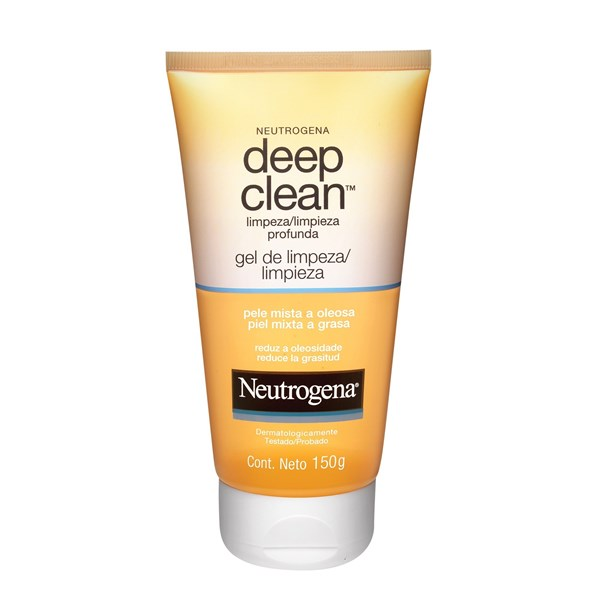 Neutrogena Gel Limpiador Facial Deep Clean 150ml