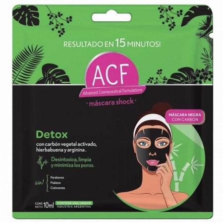 Máscara ACF Shock Detox 10ml