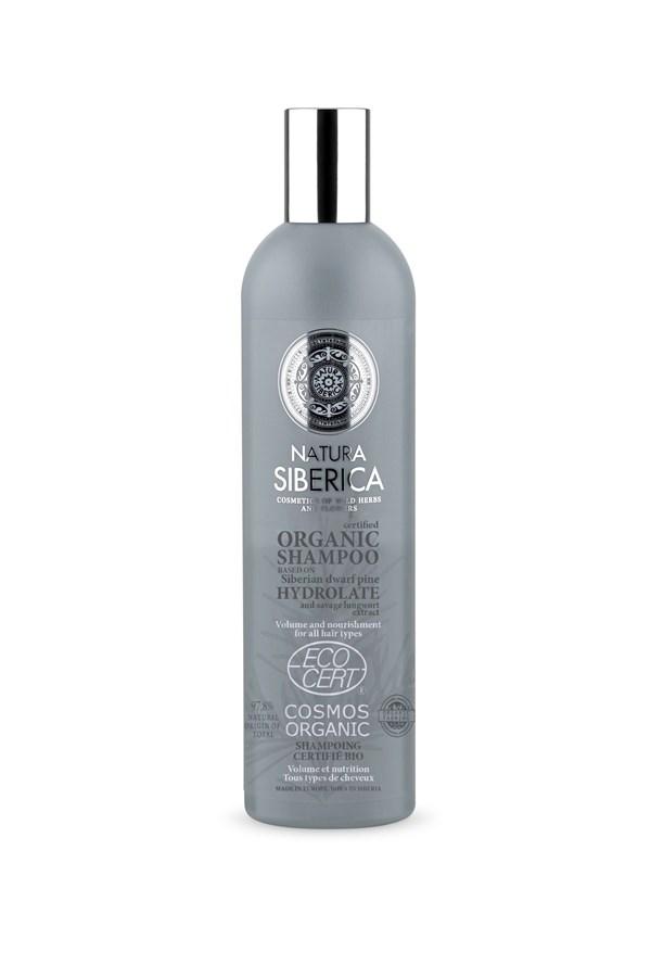 Shampoo Natura Siberica Volúmen Y Nutrición X 400 Ml