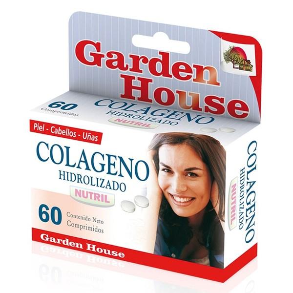 Colágeno Hidrolizado Garden House 60 Comprimidos