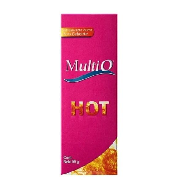 Multi-O Gel Lubricante Íntimo Hot Gel 50gr