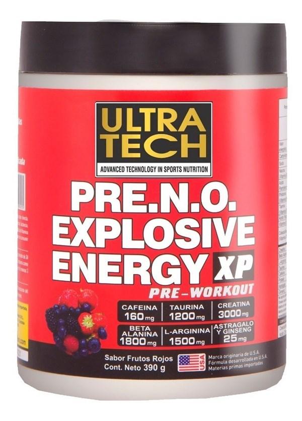 Pre work Explosive Energy Sabor Frutos Rojos 390g