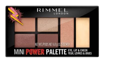 Rimmel Mini Power Palette Sombra De Ojos - 001 Fearless