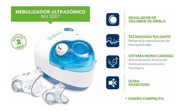 ASPEN nebulizador ultrasónico compacto  alt