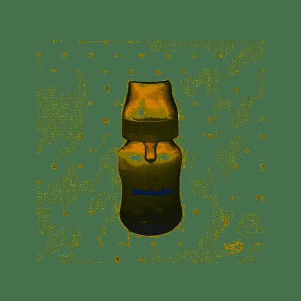 Bebefantitos Mamadera de Boca Ancha con Tetina de Silicona x 250ml alt