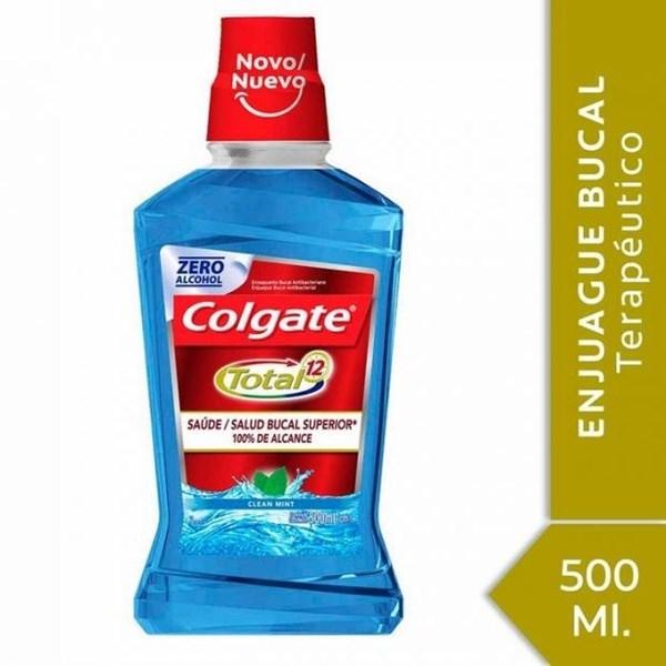 Colgate Total 12 Enjuague Bucal 500ml