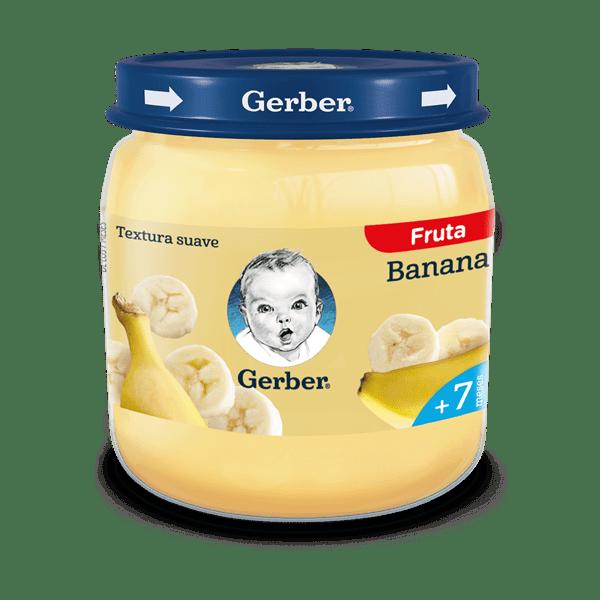 Pure Alimento Infantil Gerber 2AET Platano x 113 gr