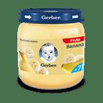 Alimento Infantil Pure Gerber 2AET Plátano x 113 gr #1