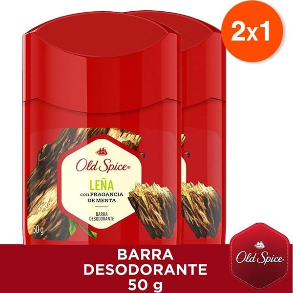 Desodorante Old Spice En Barra Leña 50 Gr
