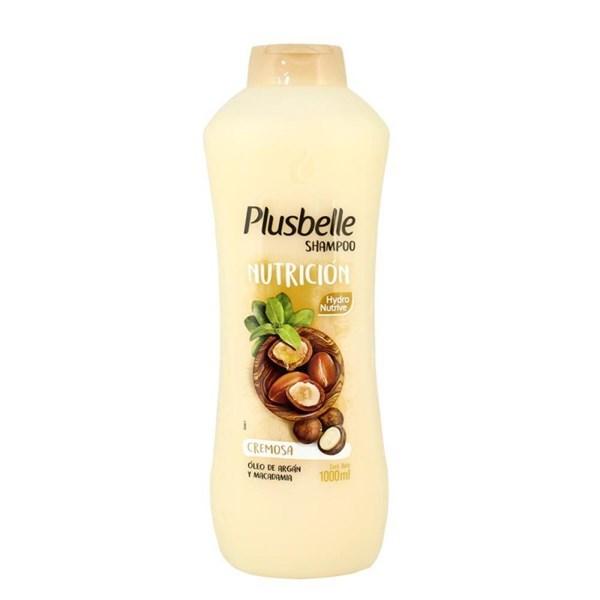 Shampoo Plusbelle Nutrición X 1000 Ml