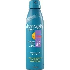 Dermaglos Linea Solar Fps 40 Spray Cont.  X 170ml ENERO