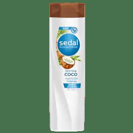 Sedal Shampoo Bomba Coco Nutrición Intensa 190ml