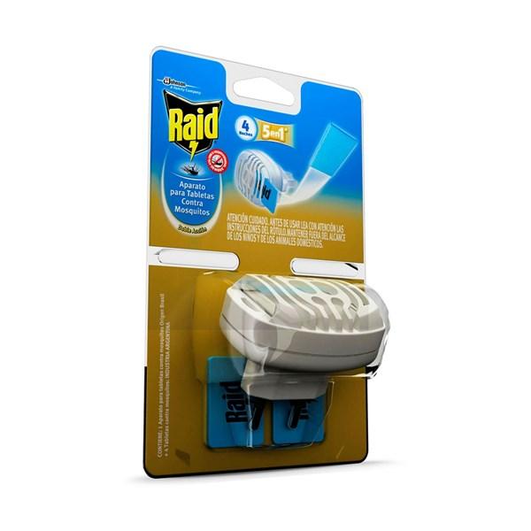 Raid Aparato Para Tabletas Antimosquitos x1