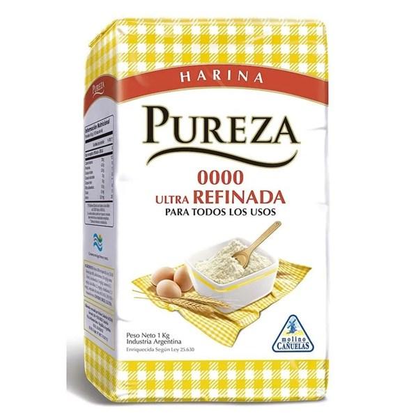 HARINA COMUN 0000 PUREZA x 1 KG