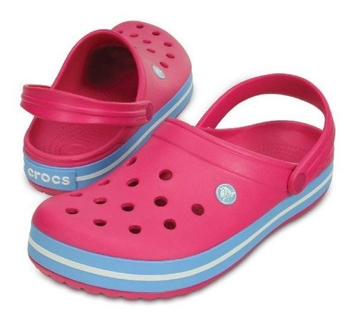 Crocs Band Candy Pink Bluebell Calzado Nº 40