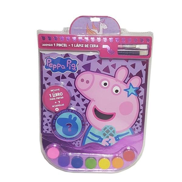 Set Creativo Acuarelas Peppa Pig