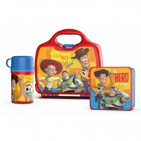 Set Toy Story Lonchera + Sandwichera + Termo