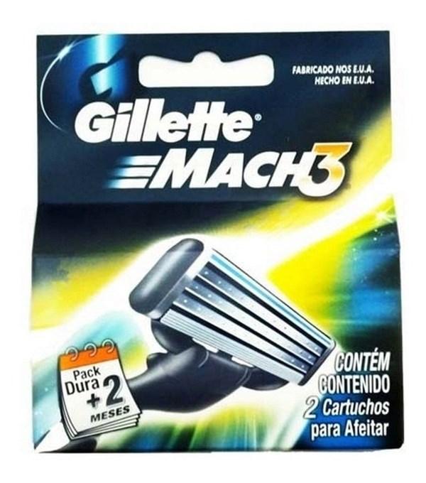 GILLETTE REPUESTO MACH3  x 2 U